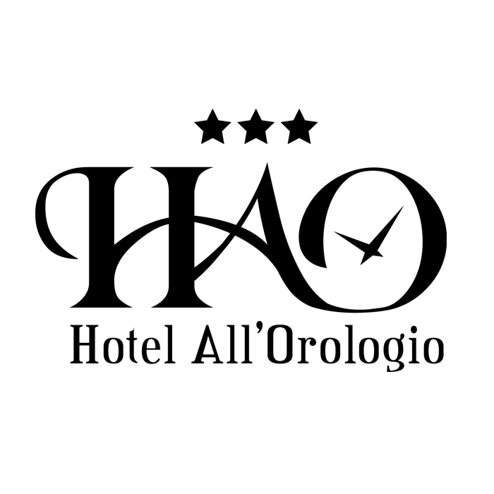 logo hotel all'orologio