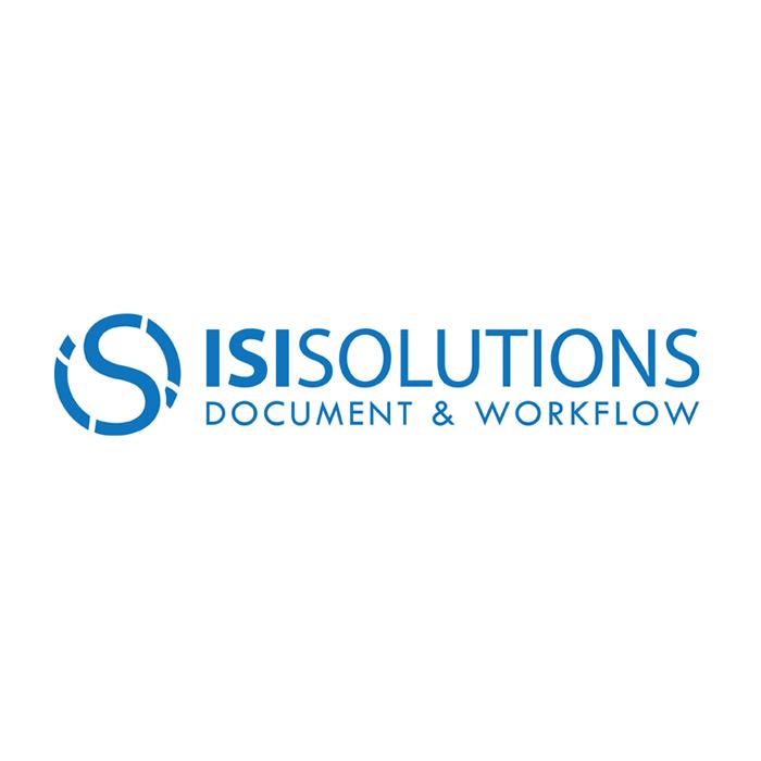 """Logo Società di Gestione Dati """"IsiSolution"""""""