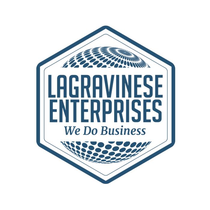 """Logo Società di Consulenza Aziendale """"Lagravinese Enterprises"""""""