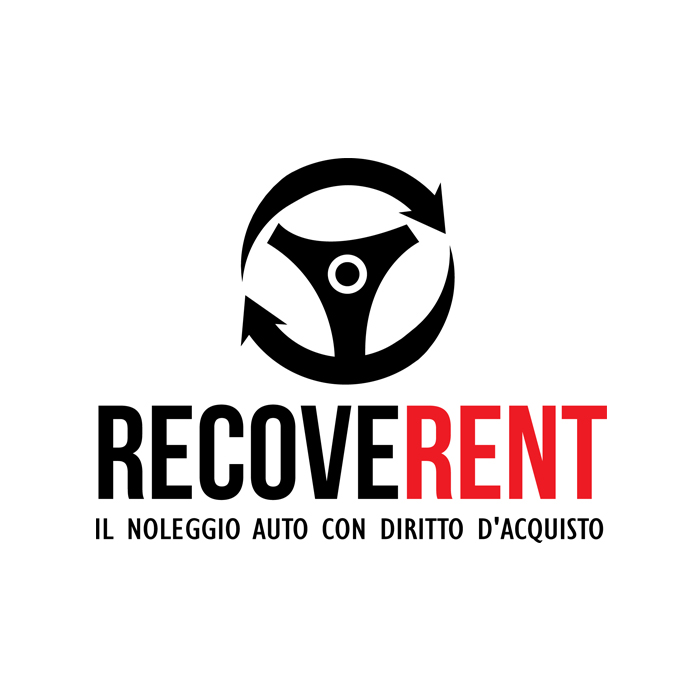 "Logo Società Noleggio Auto ""Recoverent"""