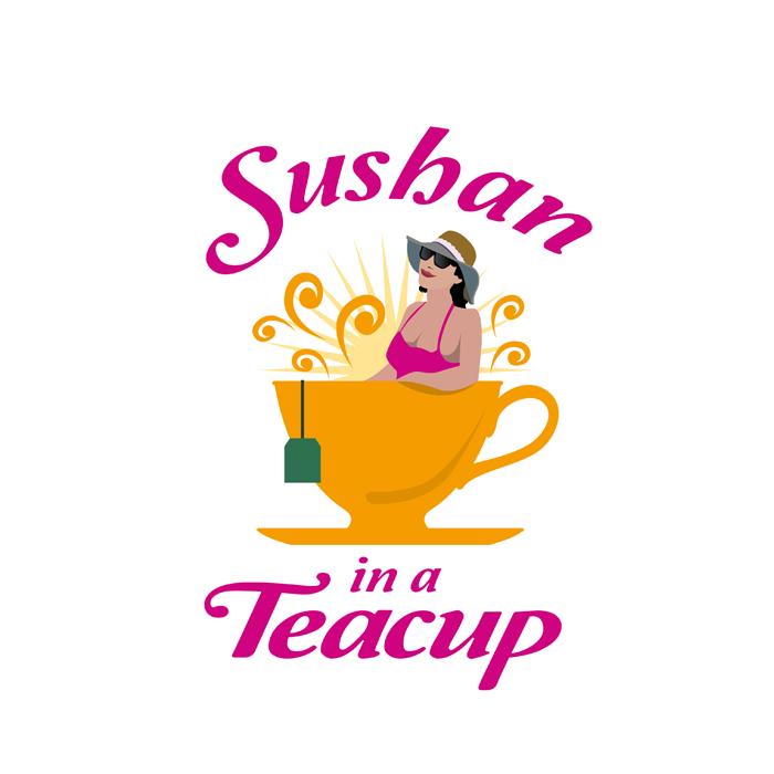 """Logo Azienda di Vendita Tè """"Sushan in a Teacup"""""""