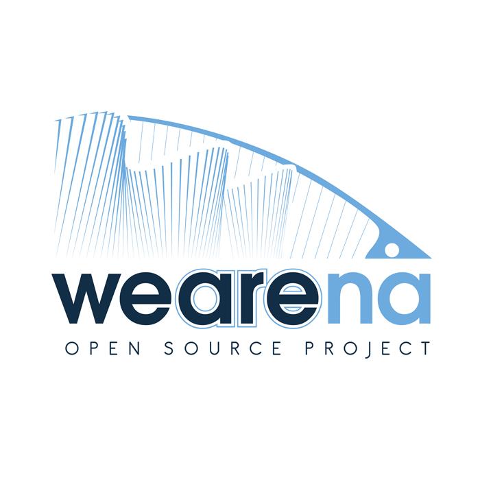 """Logo Società di Organizzazione Eventi """"Wearena"""""""