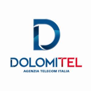 logo società di telecomunicazioni dolomitel