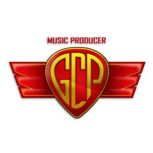 logo casa discografica gcp