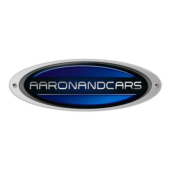 logo fotografo di auto aaron and cars