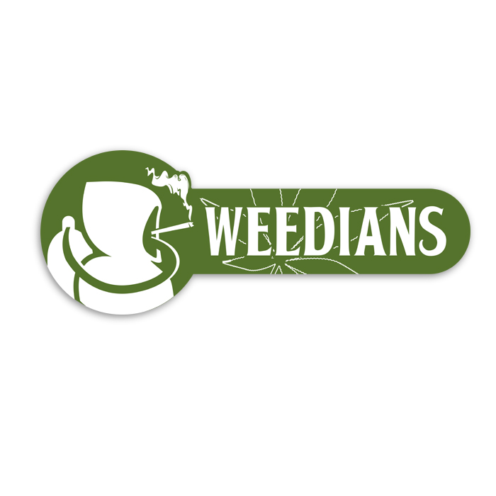 logo cannabis shop weedians
