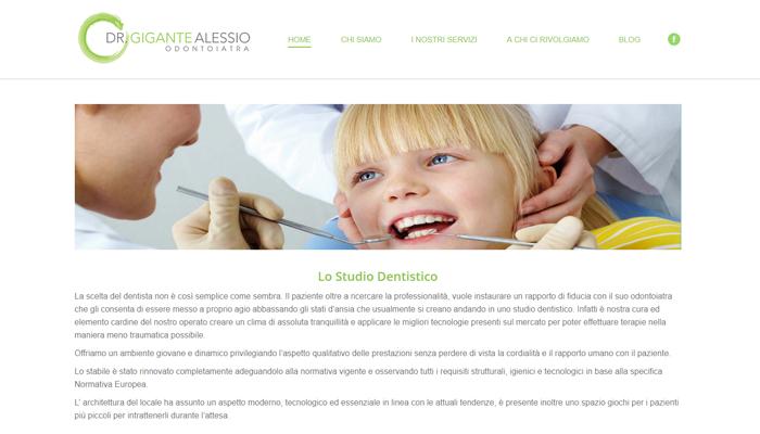 Sito per Studio Dentistico